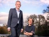 Han van Esch en Julianne Meijers